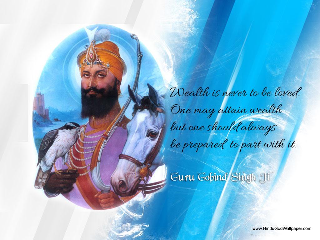 Guru Gobind Singh ji Wallpapers Guru Gobind Singh ji