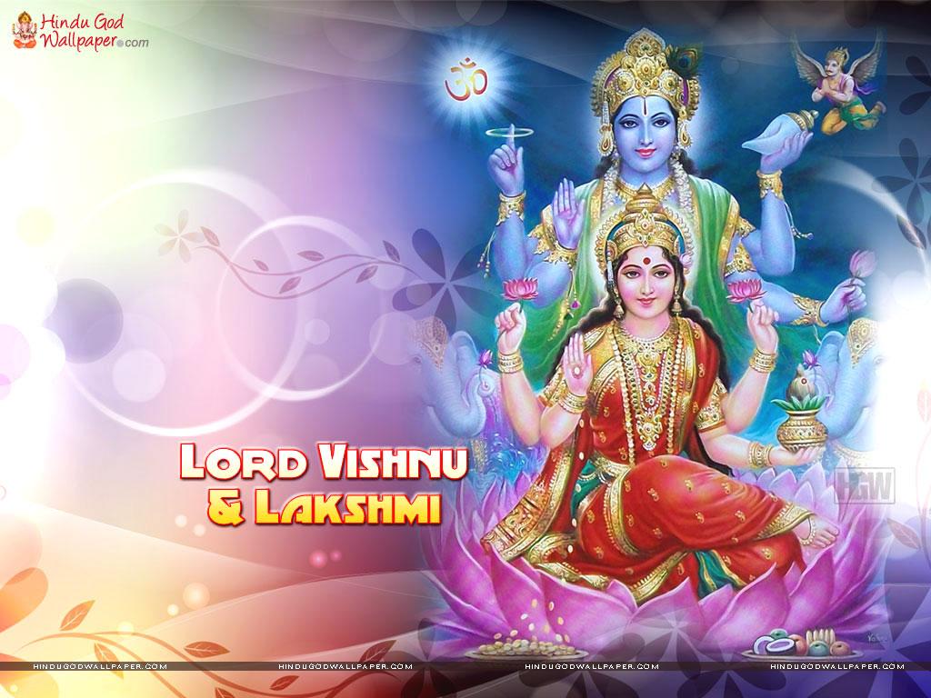 Lord Vishnu And Lakshmi Wallpapers