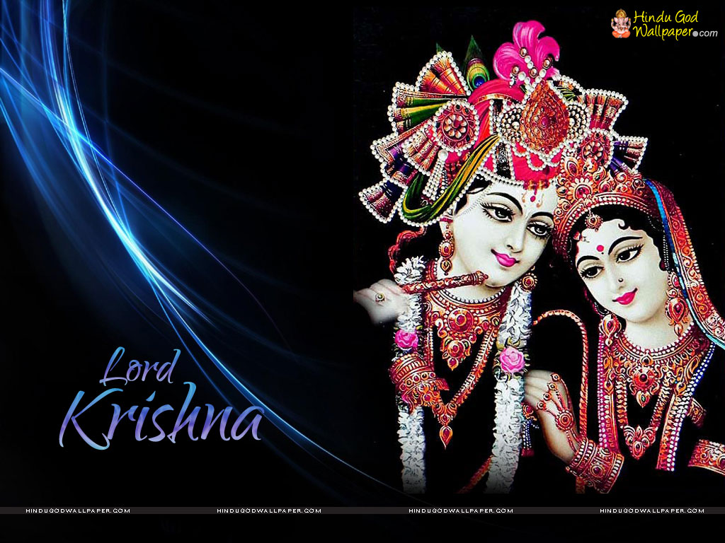 Lord Krishna Wallpapers With Black Background