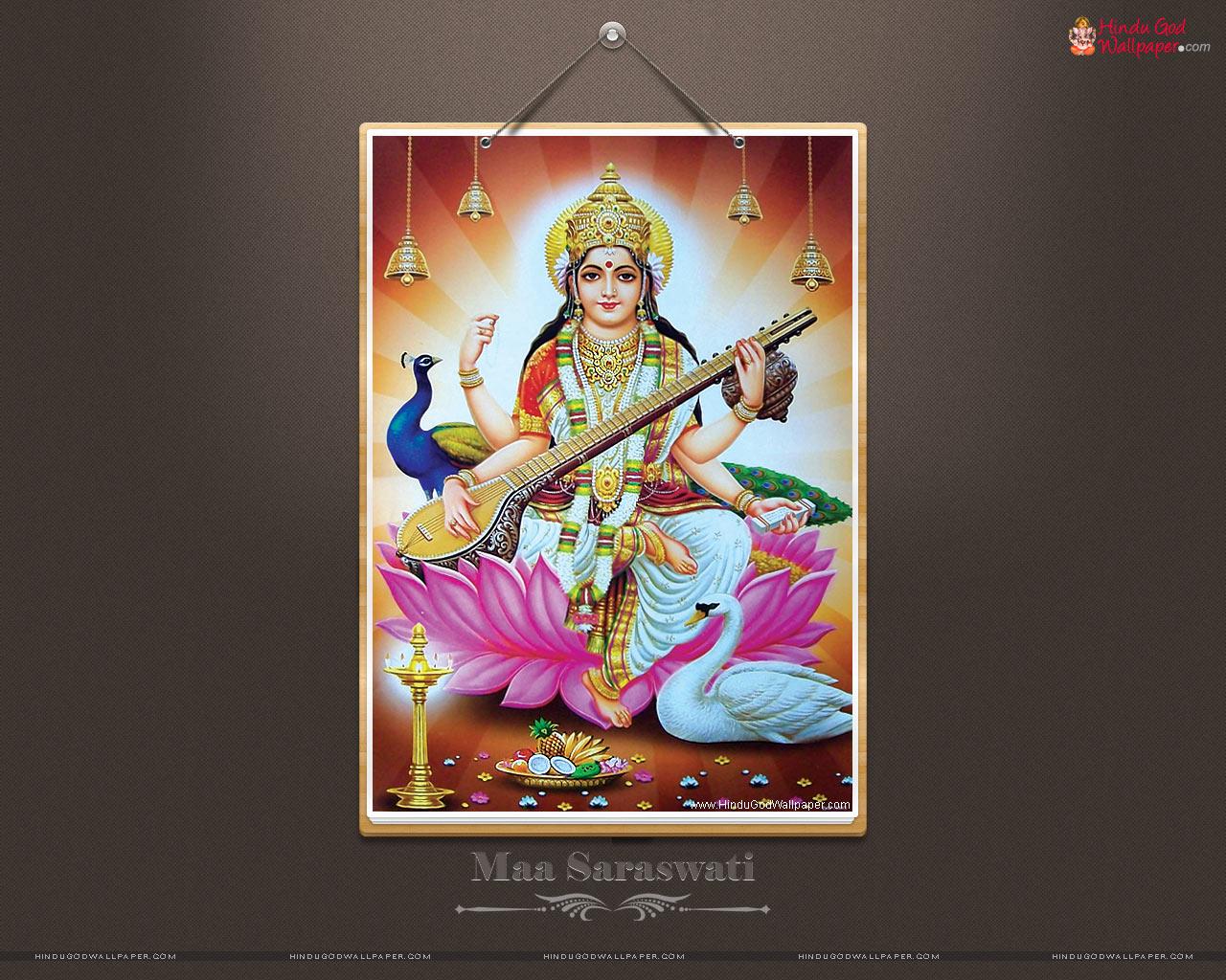 Maa Saraswati Hd Wallpapers Full Size Free Download