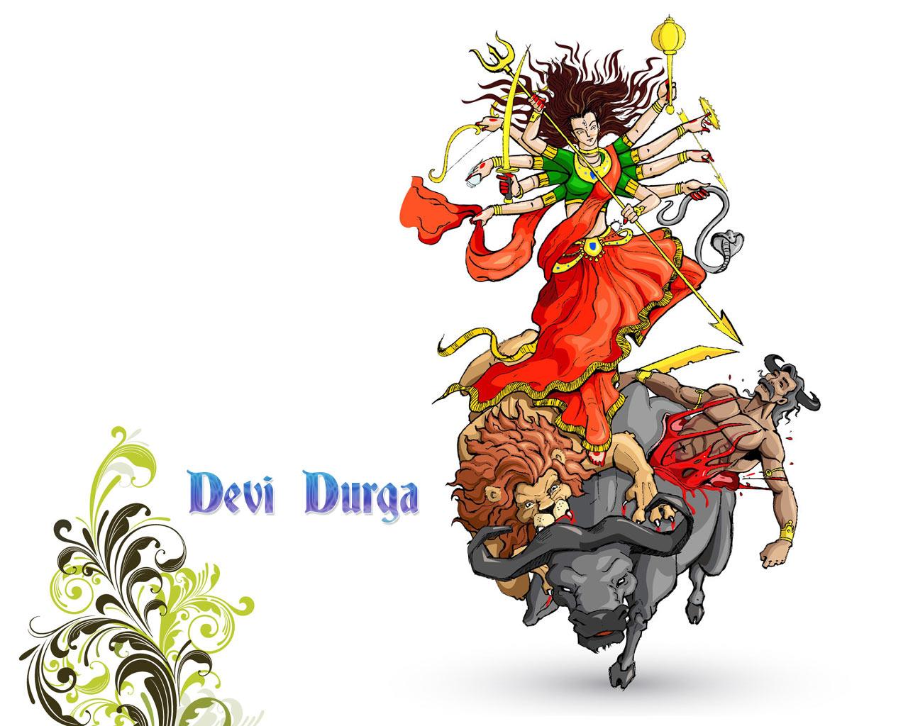 Image result for durga killing mahishasura