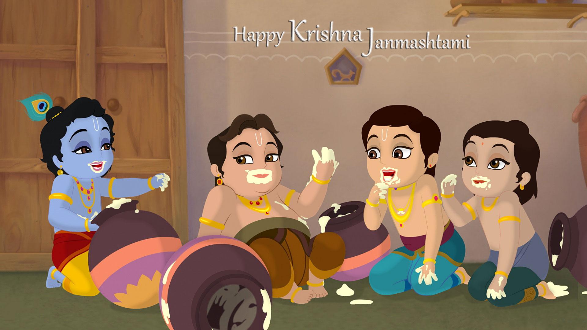 Janmashtami Wallpaper Galleries Hd Free Download