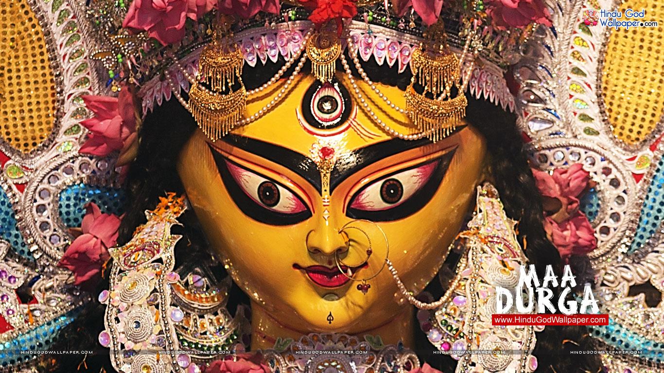 Maa Durga Eyes Wallpaper Durga Maaer Chokh Eyes
