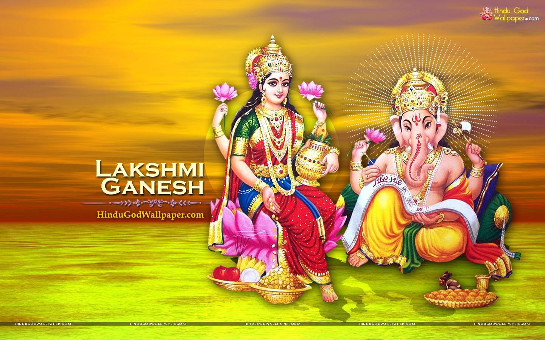 Lakshmi Ganesh Full Screen Wallpapers Free Download