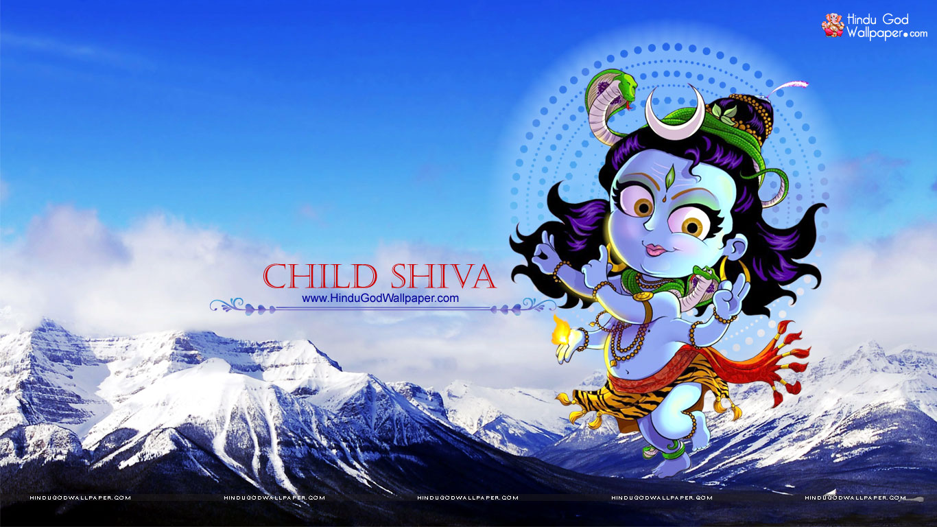 Lord Shiva Cartoon Wallpapers Images Free Download