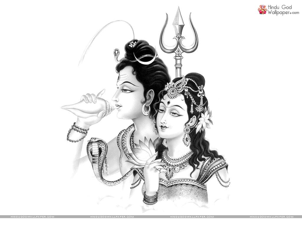 Lord shiva sketch wallpaper free download