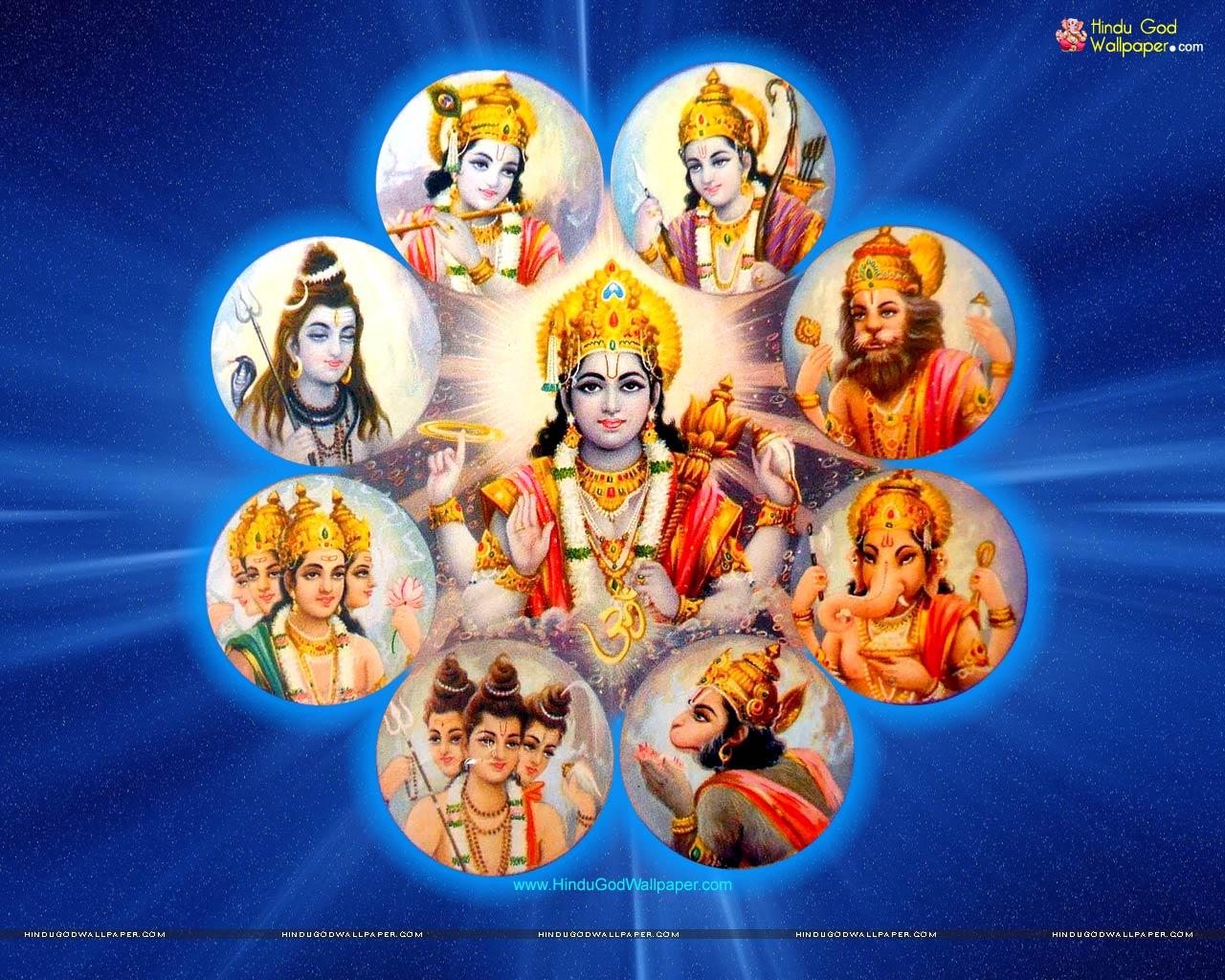 Lord Vishnu Dashavatar Wallpapers Free Download