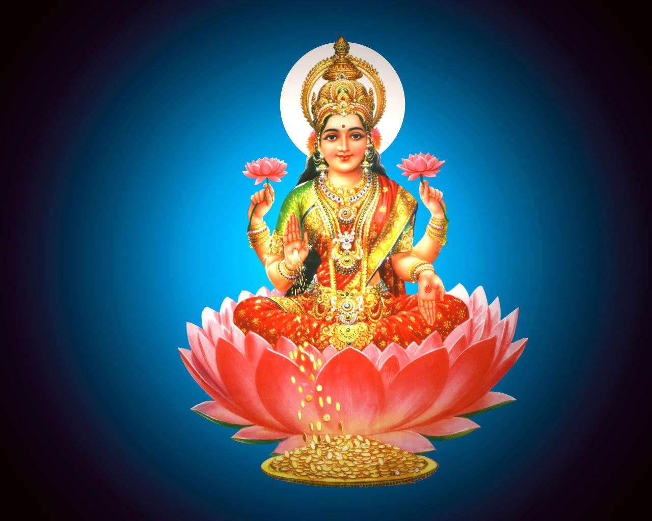Beautiful Lakshmi Devi Wallpapers Photos Free Download