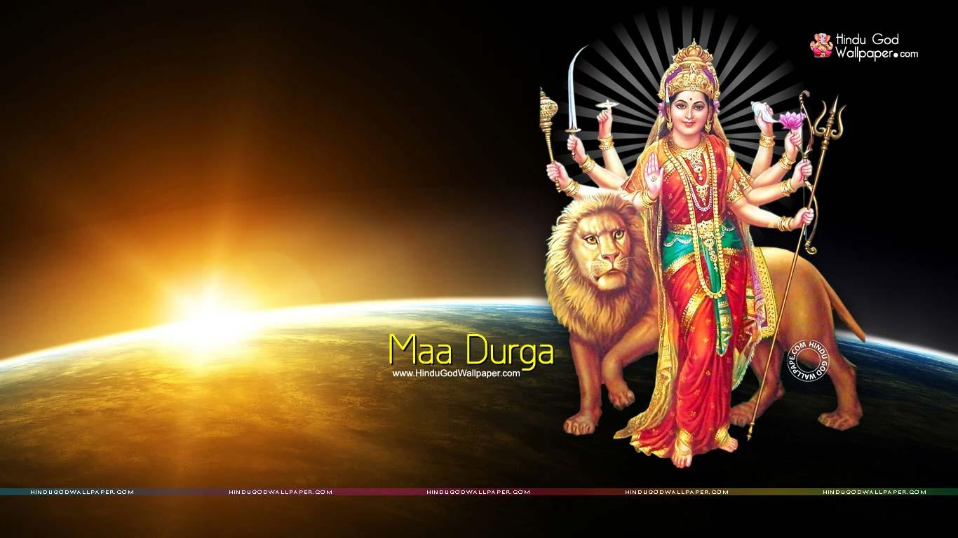 1366x768 Maa Durga Hd Wallpaper Full Size Free Download