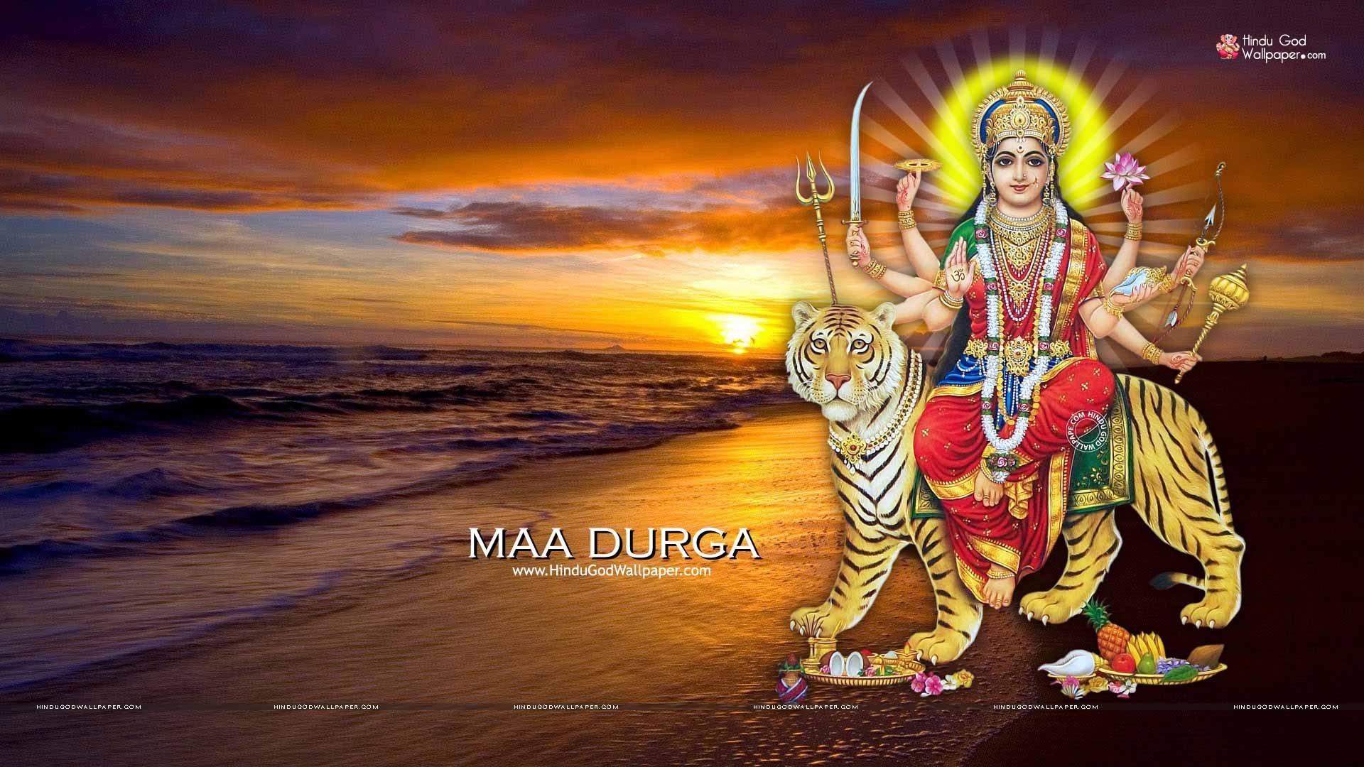 1920x1080 Maa Durga Hd Wallpaper 1080p Images Free Download
