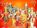 Hindu Goddess Walls