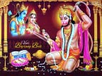 Shri Ram and Hanuman
