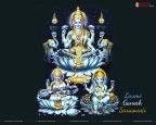 Laxmi Ganesh Saraswati HD