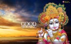 Shri Krishna Good Morning