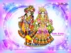 Cute Radha Krishna