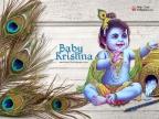 Baby Lord Krishna