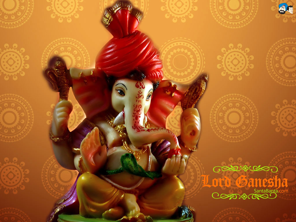 santabanta lord ganesh wallpaper for desktop