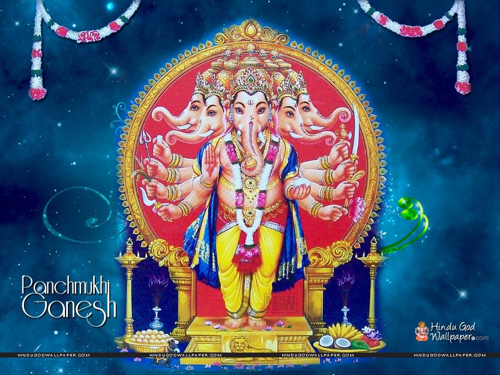 Lord Panchmukhi Ganesh... Natraj Wallpaper Desktop