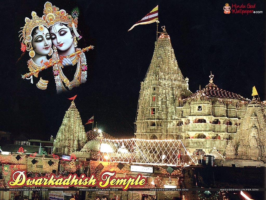 dwarkadheesh temple wallpaper