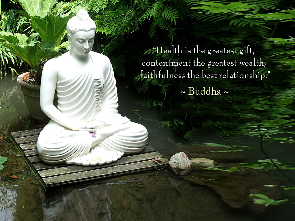 Buddha Wallpaper with Quotes