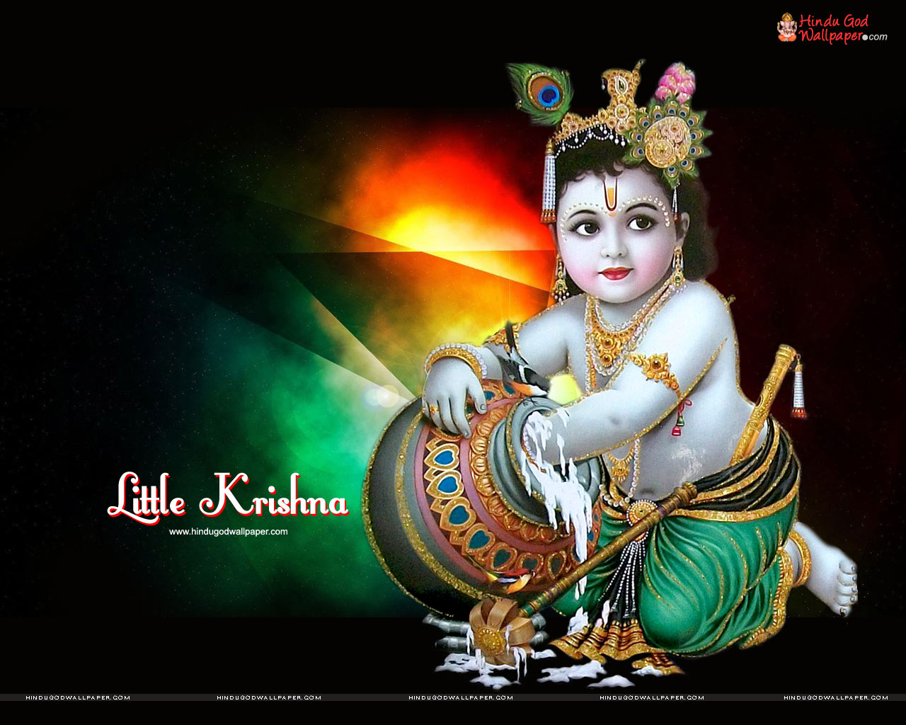 Cute Bal Krishna Wallpapers Free Download