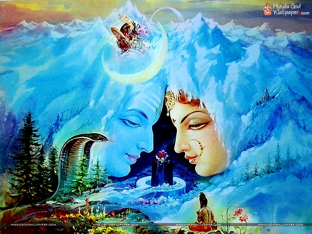 Shiv Parvati Wallpaper Full Size Download