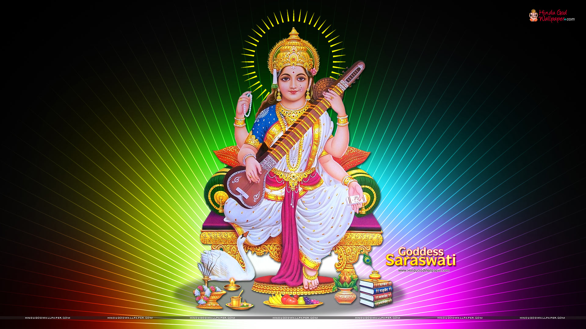 Saraswati HD Wallpapers