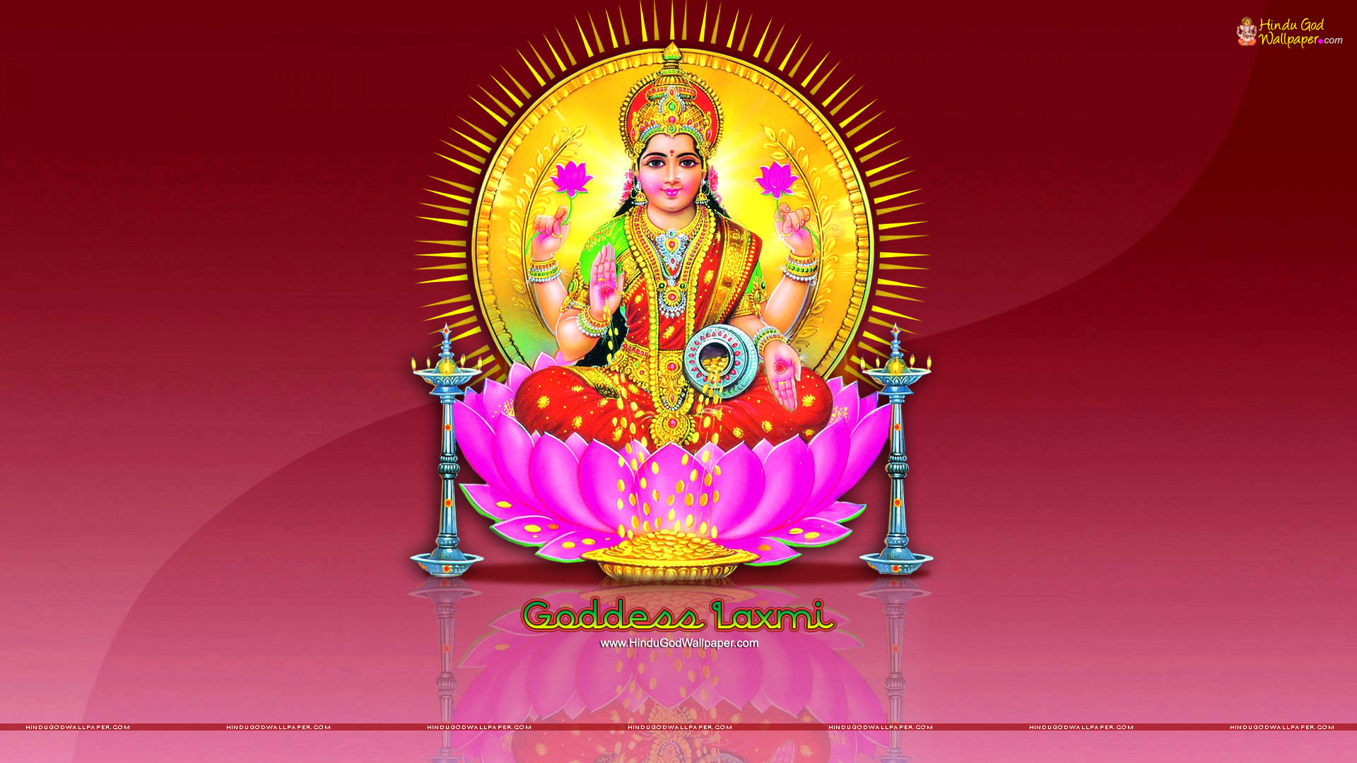 Goddess Laxmi Hd Wallpaper Full Size High Resolution Download