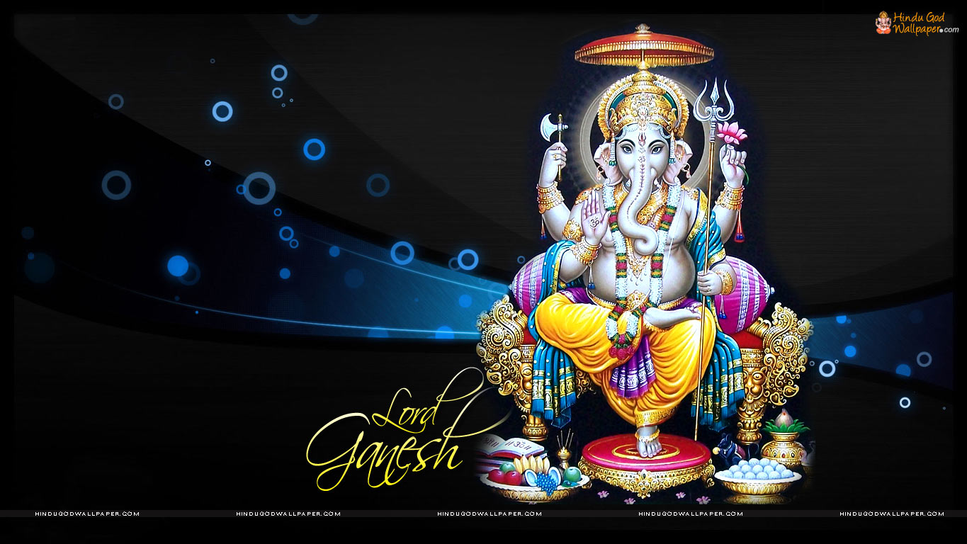 Beautiful Flower Ganesh Wallpapers, HD Images, Photos Download