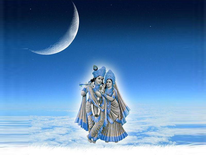 Spiritual Love Radha Krishna Desktops