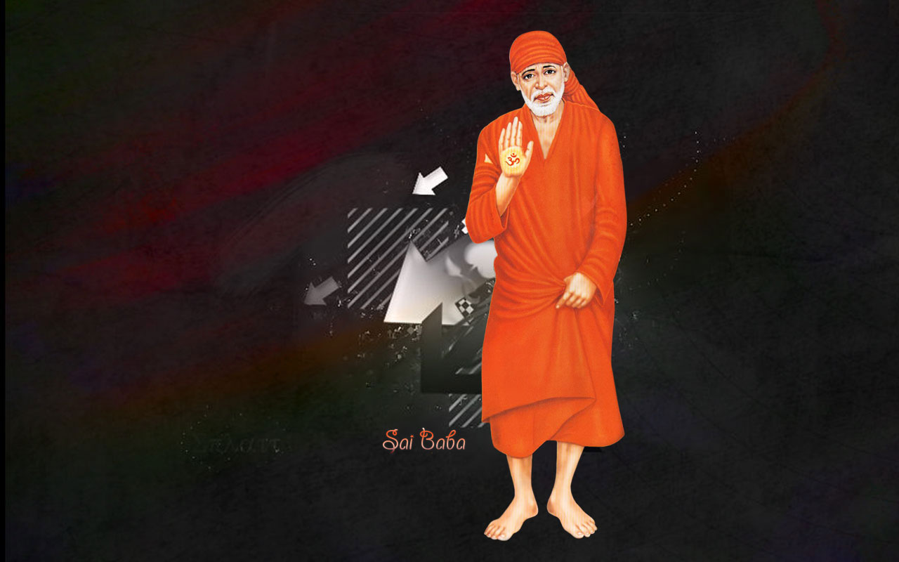 Sai Baba Hd Big Size Wallpaper Download