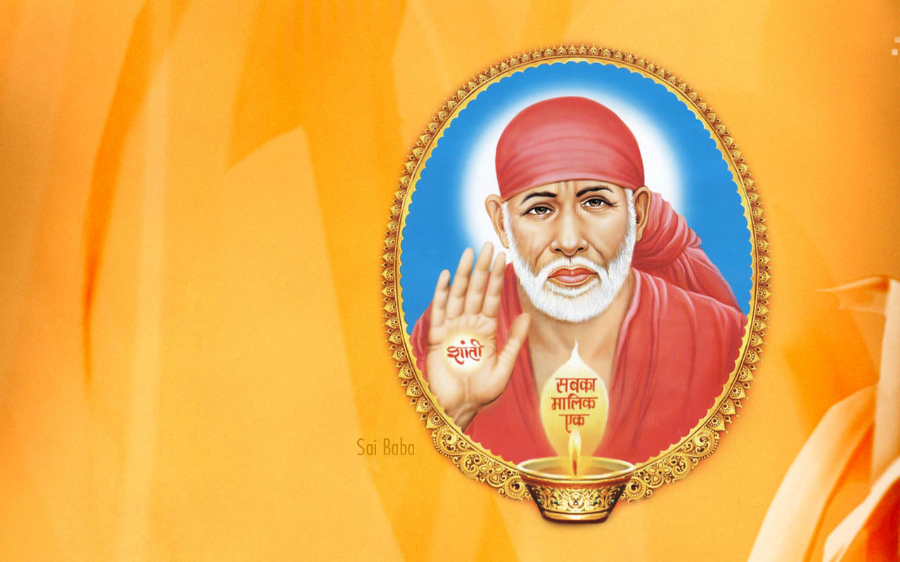 Sai Baba Hd Wallpapers For Desktop Download