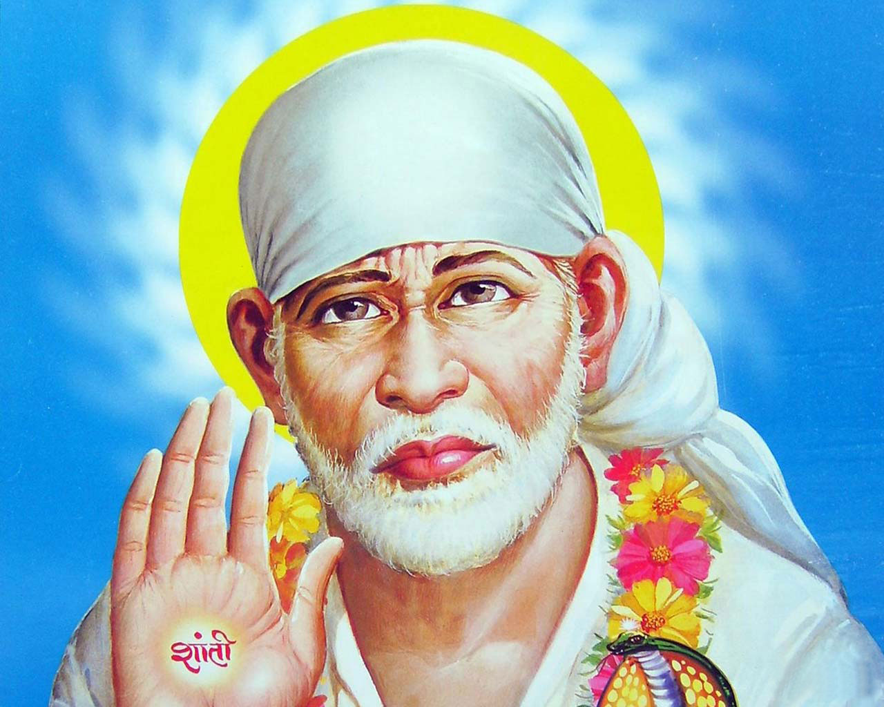 Shirdi Sai Baba Full Screen Hd Wallpapers Download