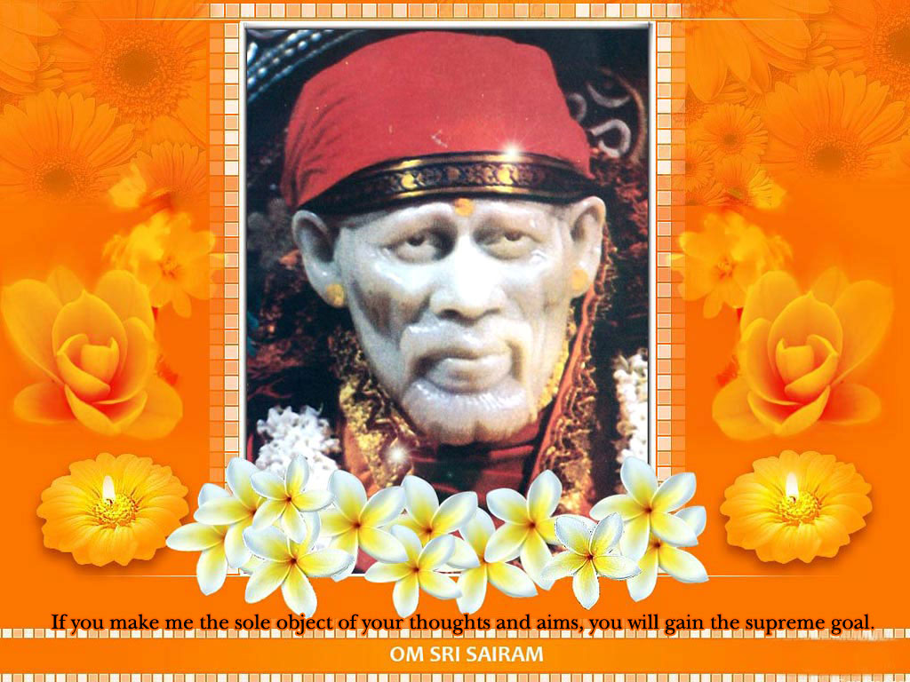Sai Baba Wallpaper With Quotes
