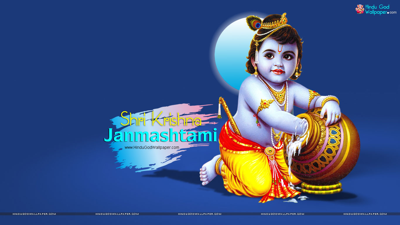 Happy Janmashtami 2019 HD Wallpapers & Images Free