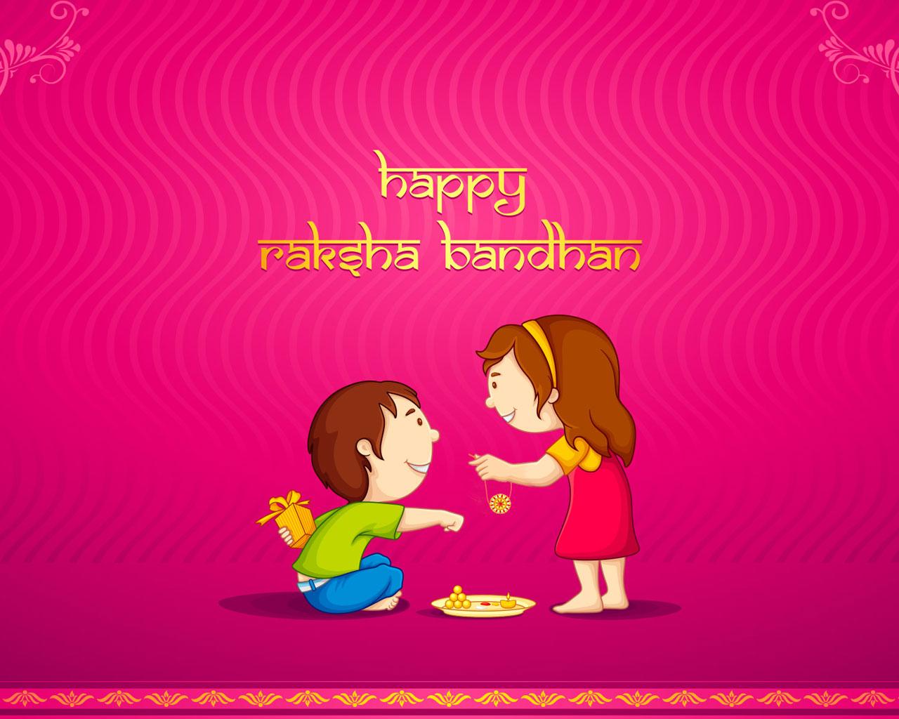 raksha bandhan beautiful wallpaper