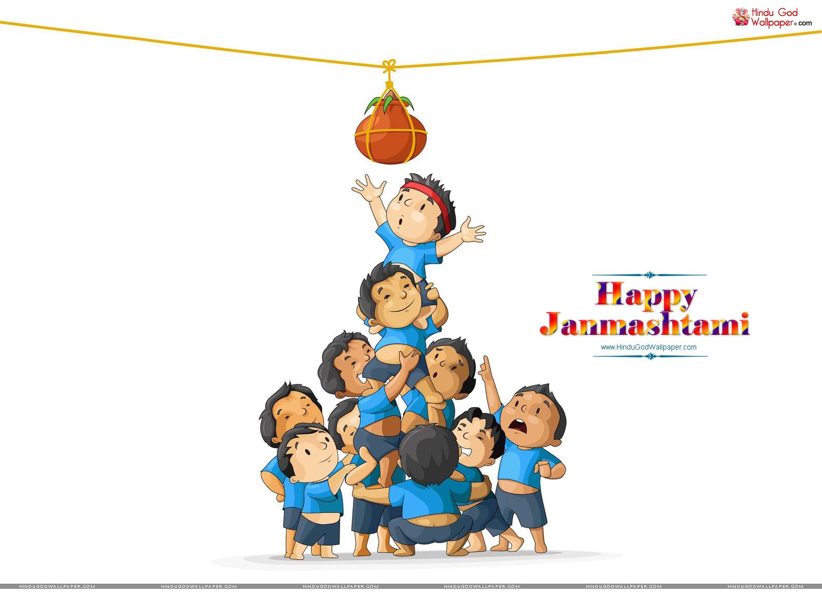 happy janmashtami hd wallpapers download