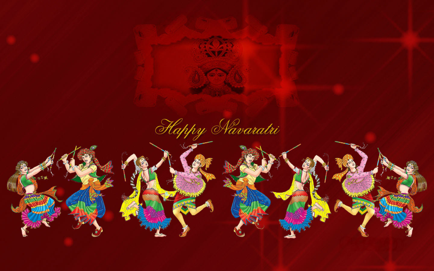 3d Wallpaper For Home Wall India Shubh Navratri Wallpaper Download For Desktop
