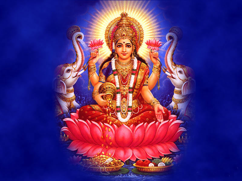 Goddess Lakshmi Ganesha Diwali Backgrounds