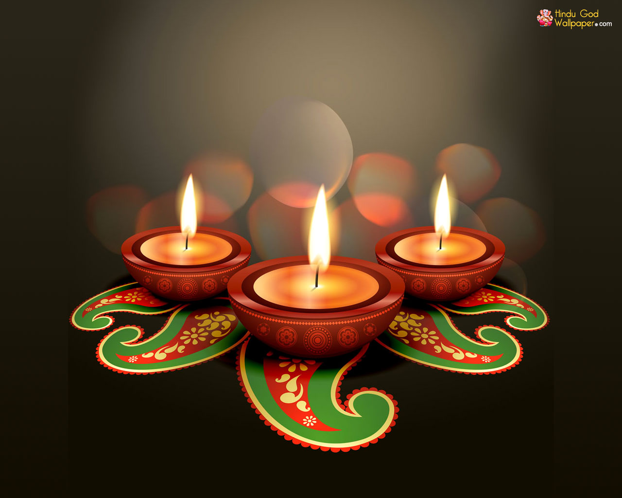 Happy Diwali Diya Wallpapers
