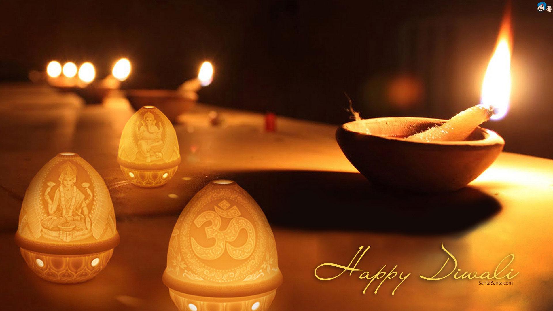 Santabanta Diwali HD Wallpaper Free Download
