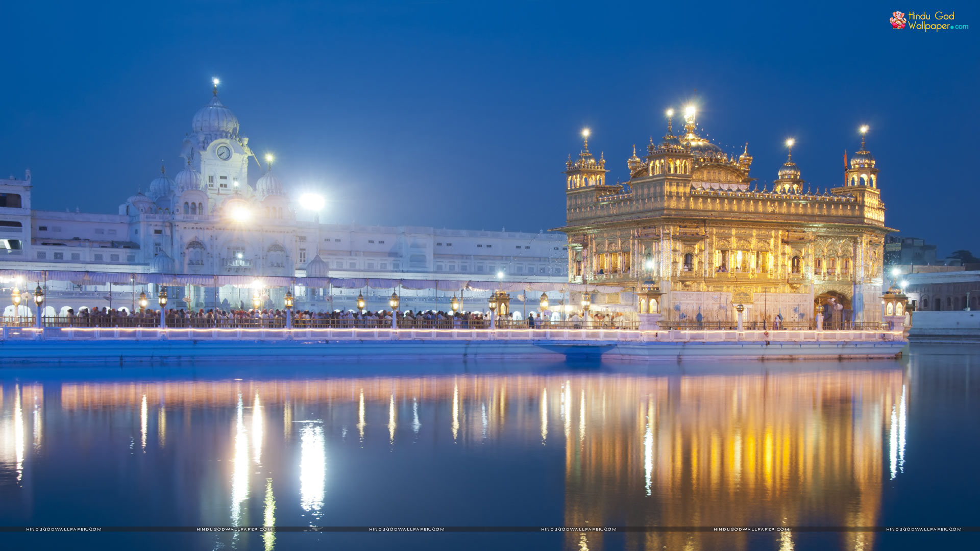 1920x1080 golden temple wallpaper hd download
