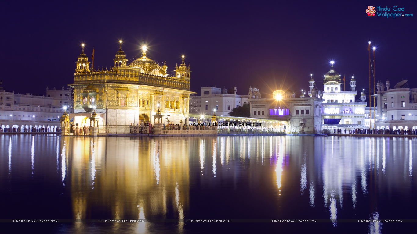 Golden Temple Wallpaper for PC Download
