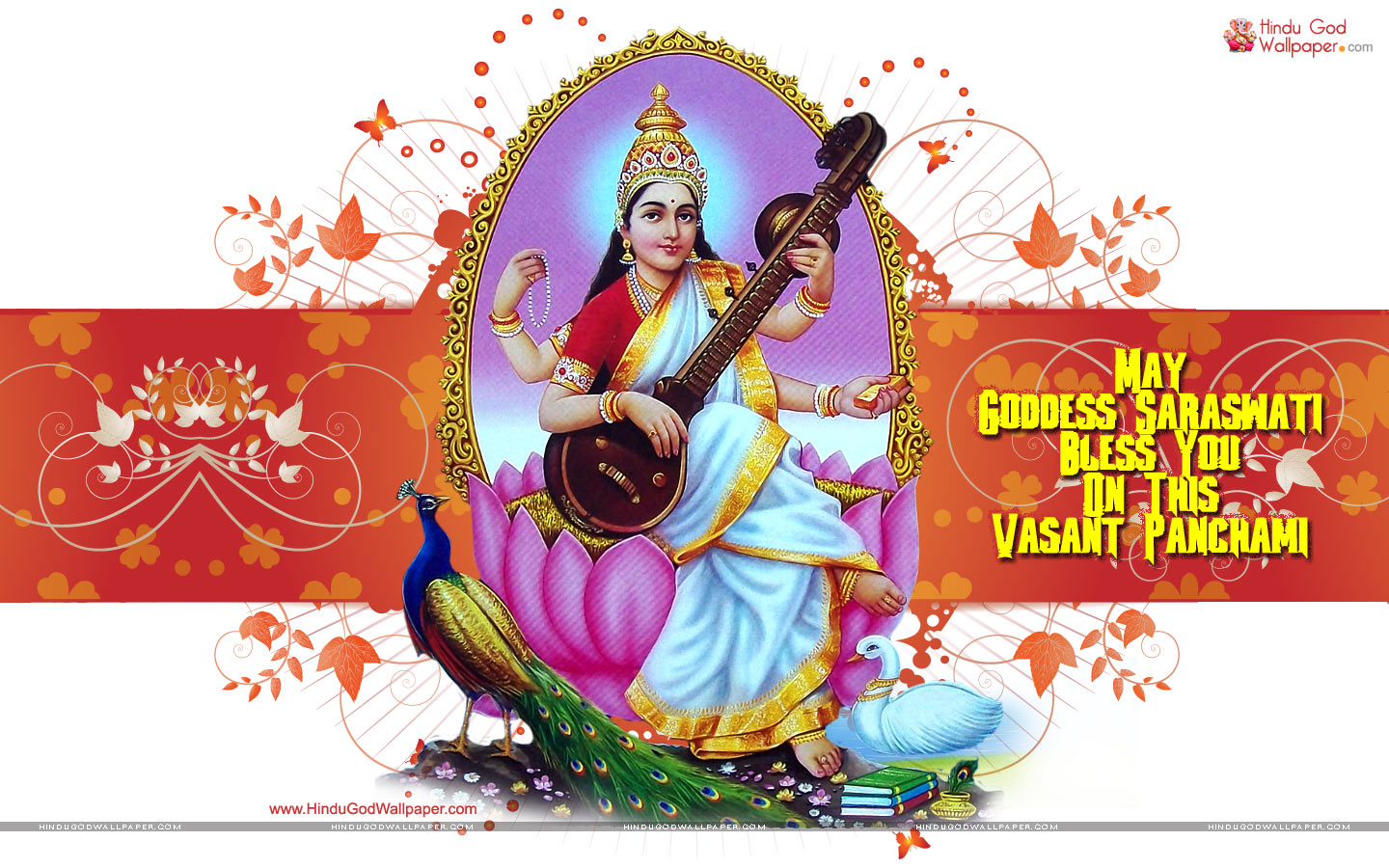 2017 Happy Basant Panchami Wallpapers