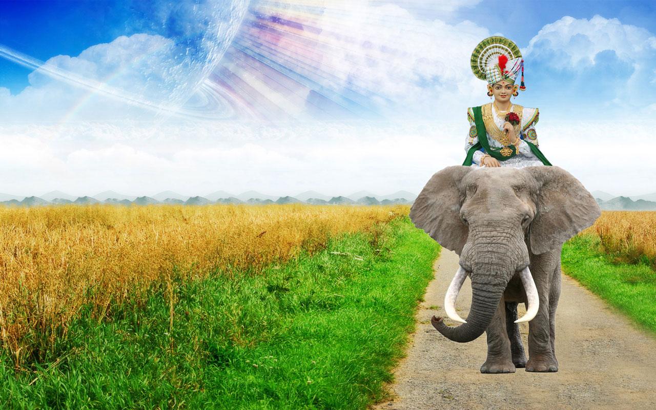 Jay Shree Swaminarayan Wallpaper Free Download