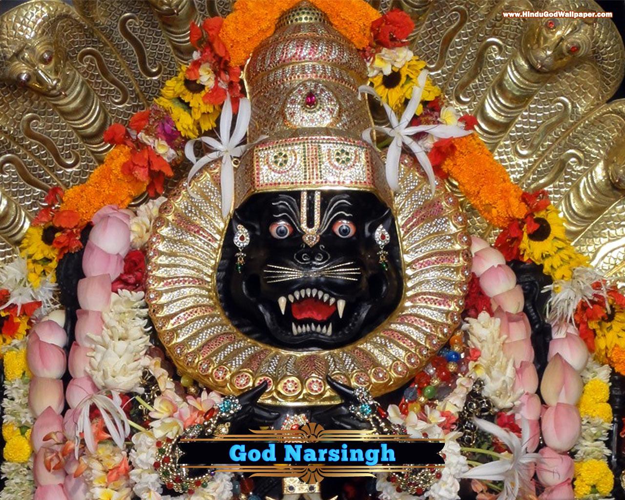 narsingh bhagwan god