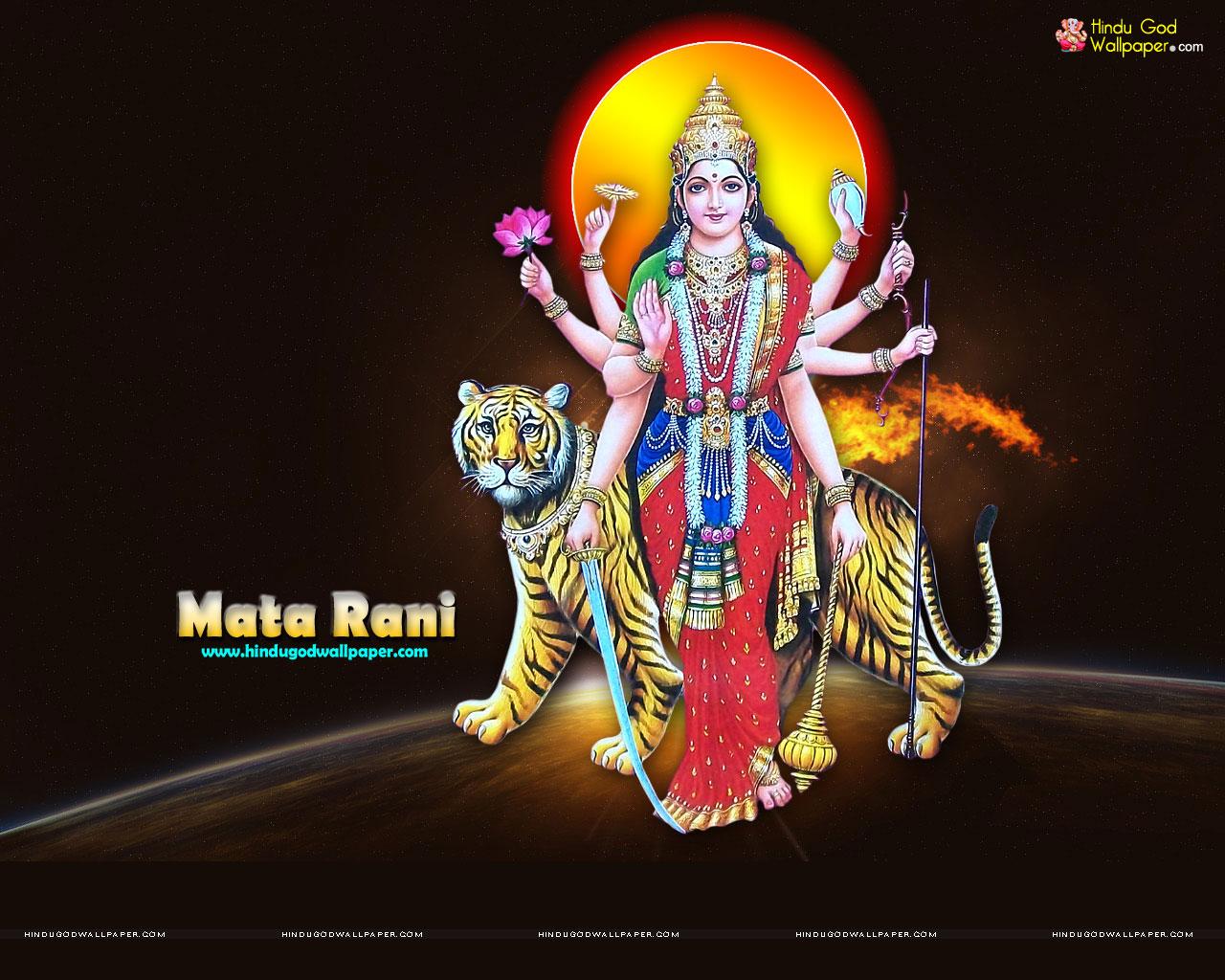 Mata Rani Hd Wallpaper Download