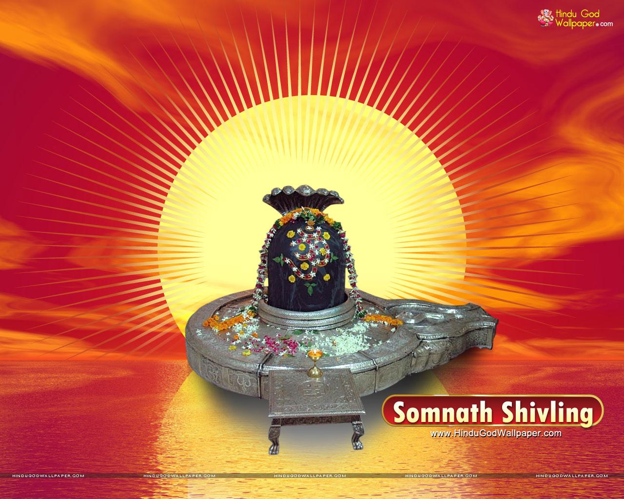 somnath shivling wallpaper