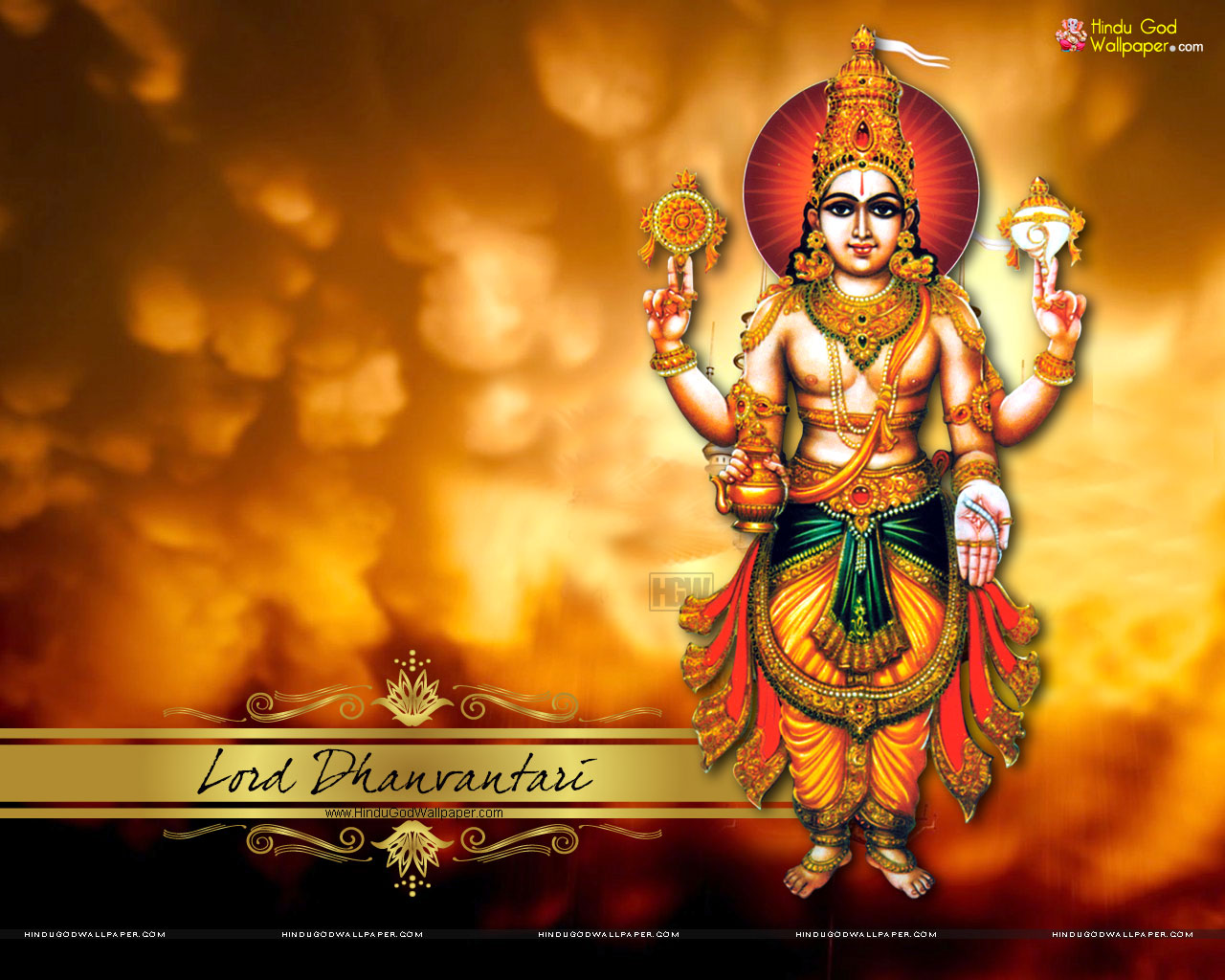 Lord Dhanvantari HD