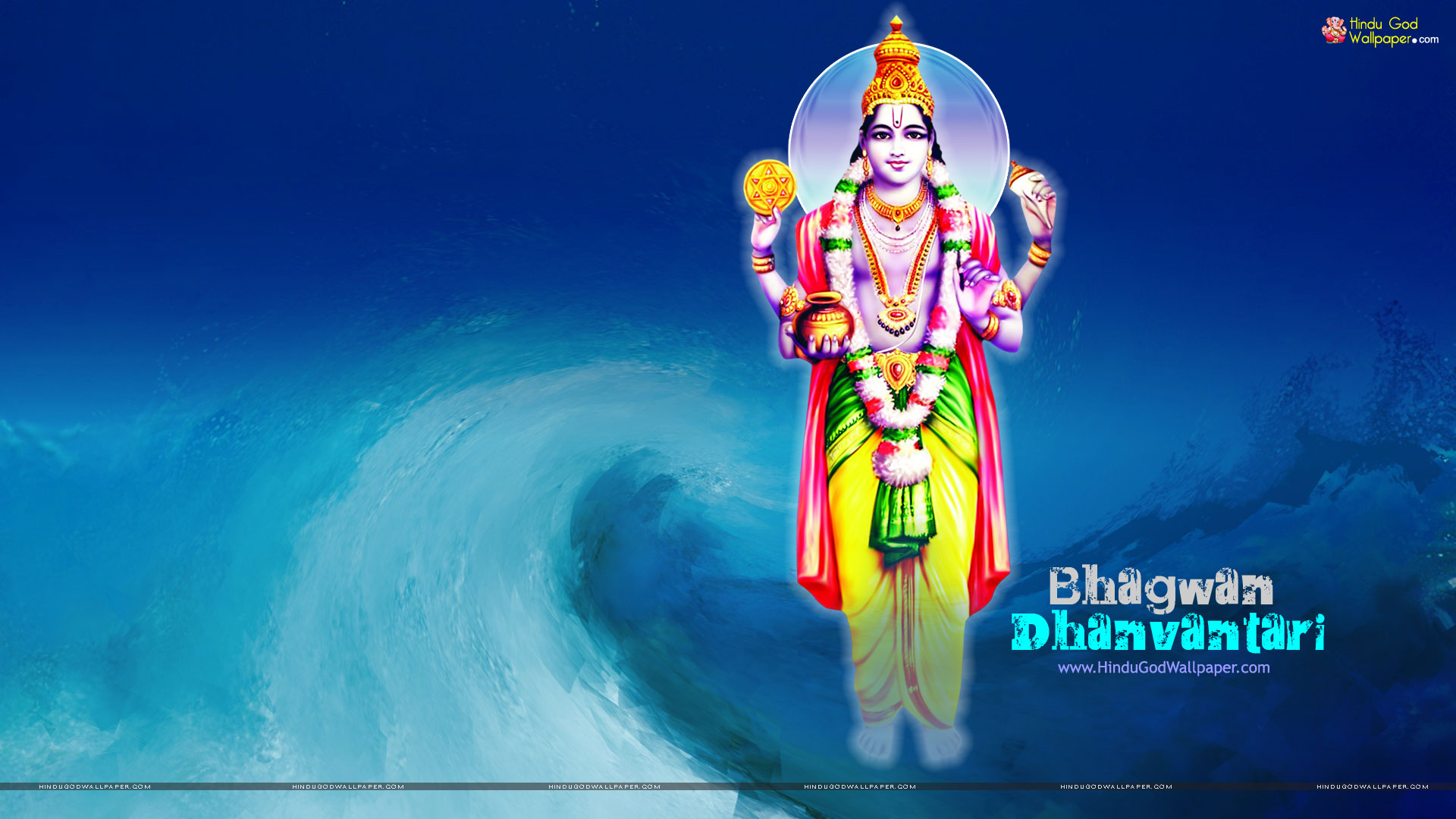 God Dhanvantari HD